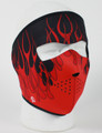 Face Mask - Pink Blaze Neoprene