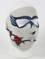 Face Mask - Dark Rose Neoprene