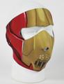 Face Mask - Steel Skull Neoprene