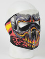 Face Mask - Red Evil Skull Neoprene