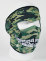 Face Mask - Camo With Teeth Neoprene