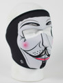 Face Mask - Guy Fawkes Neoprene