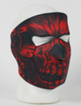 Face Mask - Red Shredder