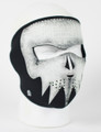 Face Mask - Glow in the Dark Ghost Skull Neoprene