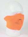 Face Mask - 1/2 Safety Orange