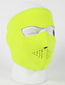 Face Mask - Safety Yellow Neoprene