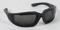 BIKER SUNGLASSES - Foamerz 2 Sunglasses, Blk Frame, Anti-fog Smoked, ANSI Z87