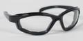 BIKER SUNGLASSES - Renegade Convertible, Blk Frame, Photochromic Lens