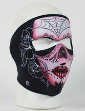 Face Mask - Sugar Skull Neoprene