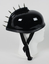 Spiked Gladiator Novelty Motorcycle Helmet