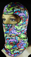 Color Skull Balaclava