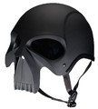 DOT Matte Skull Motorcycle Helmet