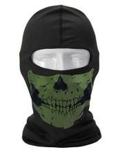 Green Skull Balaclava