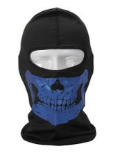 Blue Skull Balaclava