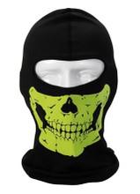 Lime Skull Balaclava
