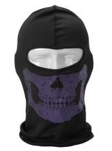 Purple Skull Balaclava