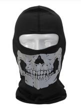 Grey Skull Balaclava