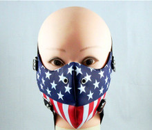 Face Mask - 1/2 American Pleather