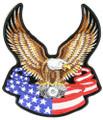 Patch - Eagle Banner Back