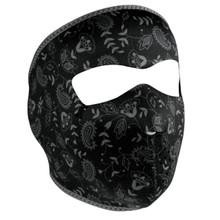 Face Mask - Dark Paisley
