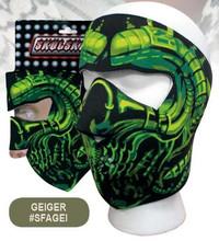 Geiger Face Mask