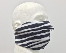 Zebra Neoprene Face Mask