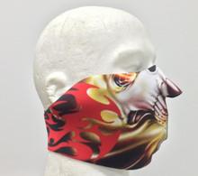 Tribal Neoprene Half Face Mask