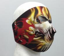 Tribal Teeth Skull Neoprene Face Mask