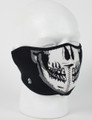 Face Mask - 1/2 Skull Face Neoprene
