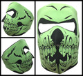 Face Mask - Glow Galleon Skull
