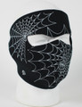 Face Mask - Glow in the Dark Spider Webs Neoprene