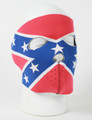 Face Mask - Rebel Flag Neoprene