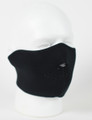 Face Mask - 1/2 Black  Neoprene
