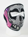 Face Mask - Lethal Threat Girl Skull