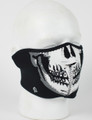 Face Mask - 1/2 Glow in the Dark Skull Mask