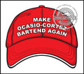 Make Ocasio-Cortez Bartend Again Decal