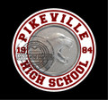 "PIkeville High School 3"" round decal"