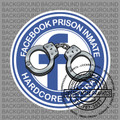 Facebook Jail Round Decal