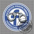 Facebook Jail Round Decal