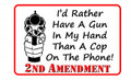 2nd Amendment 8x12 sign