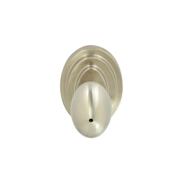 Satin Nickel Nob Hill Privacy Door Knob