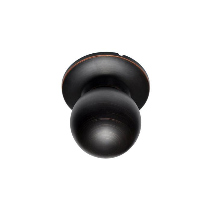 Delicieux Dark Bronze Marina Round Ball Knob BHP Handleset Interior Trim Knob