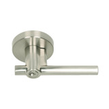 Satin Nickel Skyline Blvd. Reversible Entry Lever