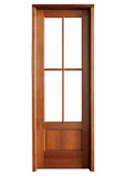 Mahogany Alexandria TDL 4LT 6/8 Single Door