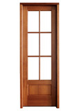 Mahogany Alexandria TDL 6LT 8/0 Single Door