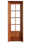 Mahogany Alexandria TDL 8LT 8/0 Single Door