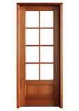 "Mahogany Alexandria TDL 8LT 8/0 3'6"" Single Door"