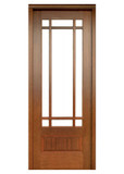 Mahogany Alexandria TDL 9LT 8/0 Single Door