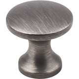 "Brushed Pewter 1"" Slade Decorative Cabinet Knob (3915-BNBDL)"