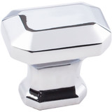 "Polished Chrome 1-1/4"" Ella Decorative Cabinet Knob (165PC)"